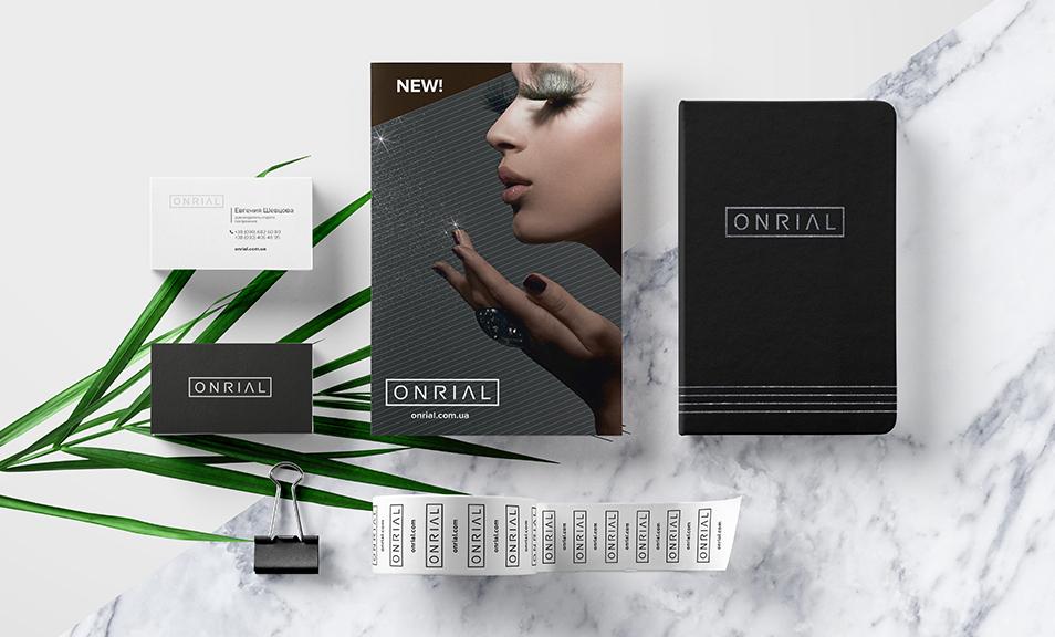 Полный комплекс услуг<br> для брендинга ONRIAL