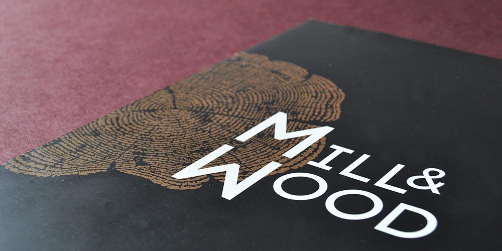 Креативный графический дизайн<br> для MILL&WOOD