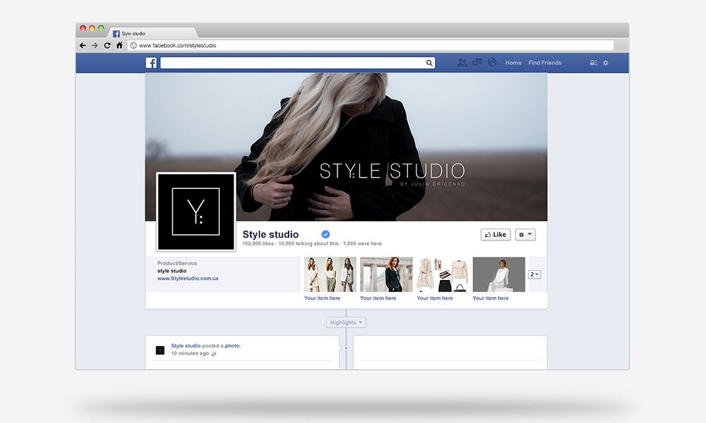 Личный брендинг для Style studio JULIA GRICENKO-image