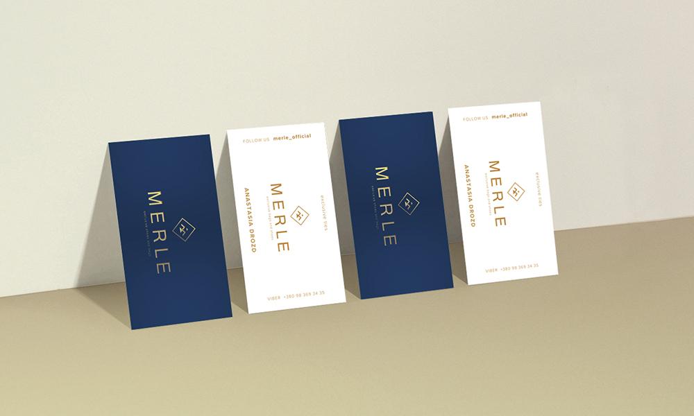 Ребрендинг для личного бренда MERLE-image