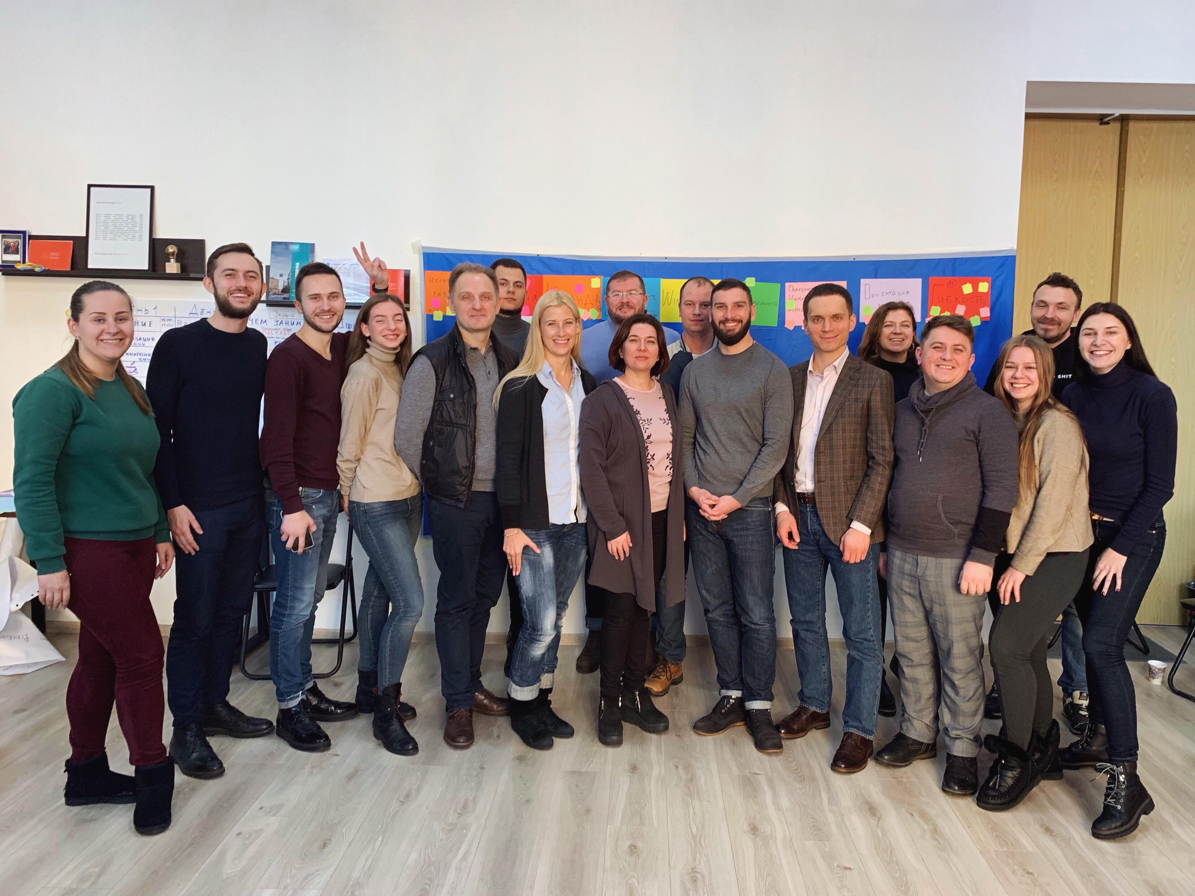 Стратегическая сессия в «Офисе реформ Харькова»